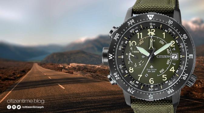 Citizen Promaster Eco-Drive BN4045-12X Altichron 200m Watch